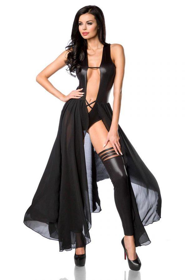 Klänning/bodydress med mäktig känsla (Svart)