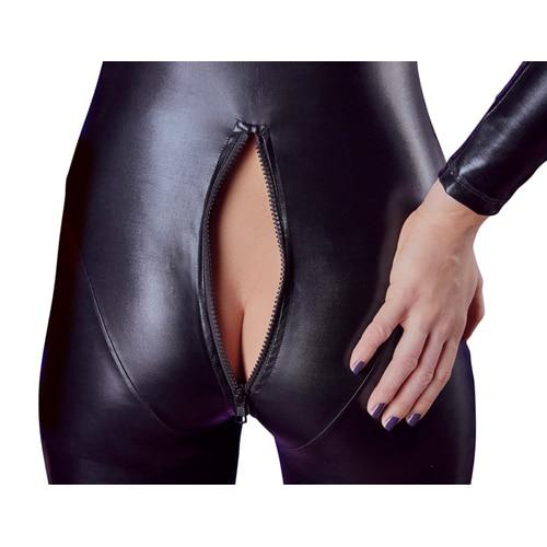 Jumpsuit med lång ärm