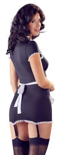 Sexy Maid-kostym med strumpeband