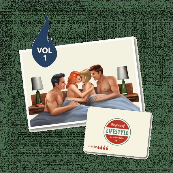 Sexspel för fler än två – The Game of Lifestyle – Extra Hot Expansion